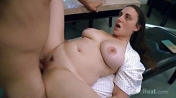 Melanie Hicks is a smashing, plump brunette who likes to hav...