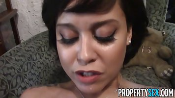 Mia is selling houses and using every opportunity to fuck me...