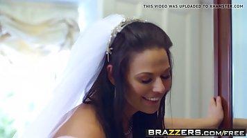 Busty bride, Simony Diamond and a horny guy, Danny are havin...