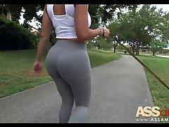 Big ass brunette, Diamond Kitty is riding a rock hard meat s...