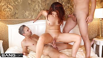 Ani Blackfox took off her clothes for a guy she wanted to fu...