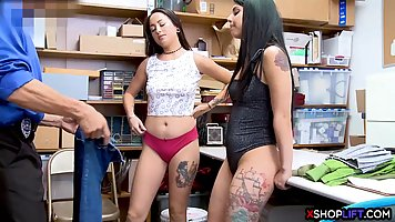 Naughty teen brunettes are about to get fucked to learn thei...