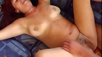 Mature, chubby woman likes to fuck much younger guys, especi...