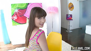 Luna Rival is a horny brunette who likes to get fucked hard,...