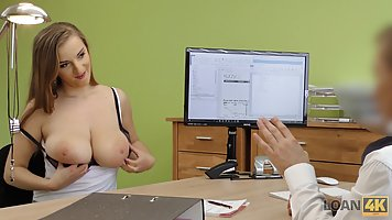 Big tited girl, Suzie went to the casting and got fucked har...