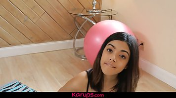 Fit teen, Harmony Wonder skips her workout routine, because ...