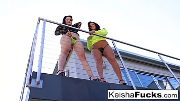 Keisha and Yhivi are in love with Mr Pete and do not mind sh...
