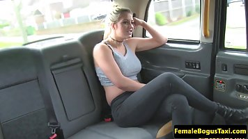 British woman seduced a lesbian taxi driver and made love wi...