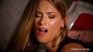 Claire Castel can't stop moaning while getting a re...