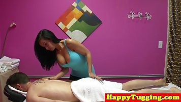 Asian masseuse is doing her best to keep her clients coming ...