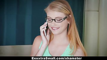 Adorable secretary is being a real slut with her married bos...