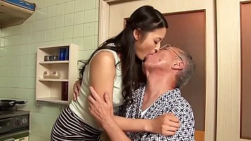 Risa Murakami is making out with a much older man and even g...
