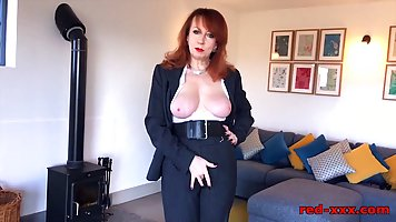 Red is a seductive, British mature who likes to suck cocks e...