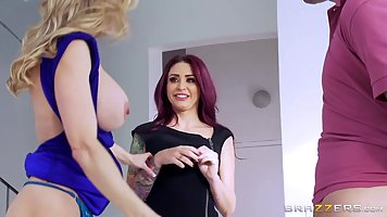 Hot ladies, Monique Alexander and Brandi Love are having a g...