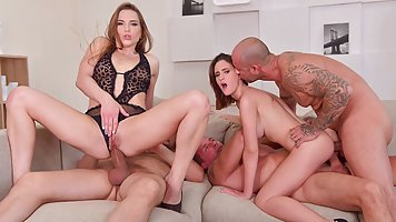 Gina Ferocious and Nicole Pearl had group sex the other day ...