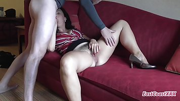 Brooke Bennett is a dirty minded milf with hairy pussy and a...