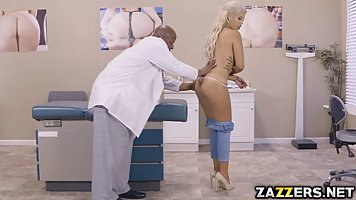 Bridgette B got fucked in the doctor's office, because s...