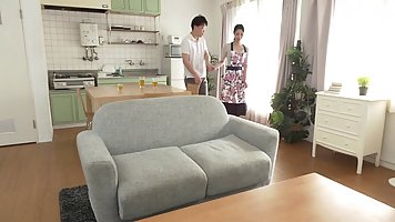Korean housewife is using every opportunity to fuck some of ...