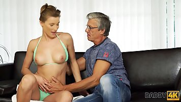 Horny chick is about to have casual sex with her boyfriend&a...