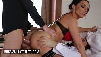 Ravishing MILF in erotic stockings, Christale Rock got stuff...