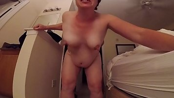 Horny mature, Camille likes the way her lover is playing wit...