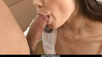 Maki Hojo is a charming Asian woman who is always in the moo...