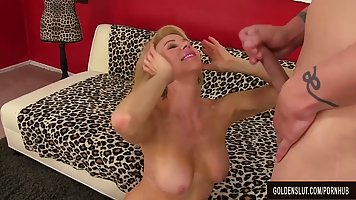 Erica Lauren is a slutty mature blonde who likes big, hard c...