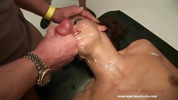 Adorable babe likes to have group sex adventures and to get ...