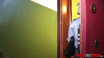 Сотрудник полиции и роговой блондинка шлюха блядь подобно ди...